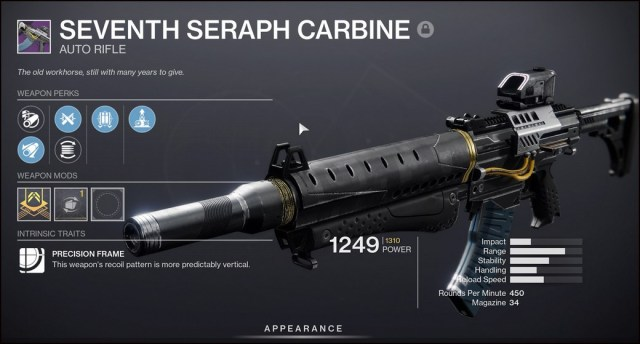 Seraph Weapons