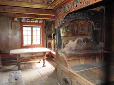Inside an old farm