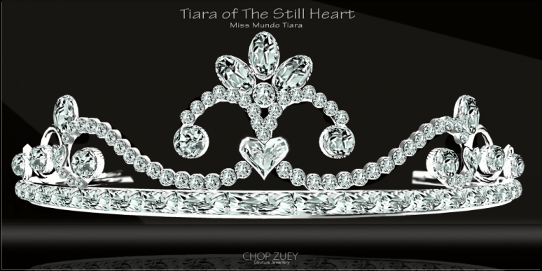 Tiara of The Still Heart - Miss Mundo
