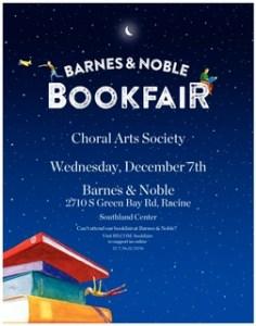 cas Barnes & Noble bookfair sign