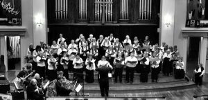 Choral Arts Society Rehearsal for Migration 2018