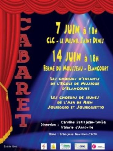 Affiche Concert cabaret