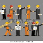 stock-vector-construction-engineering-industrial-workers-project-manager-vector-333194531