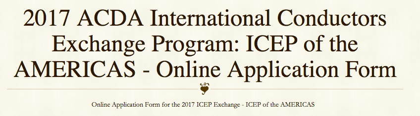 2017 ICEP Application: Selection Criteria & Guidelines