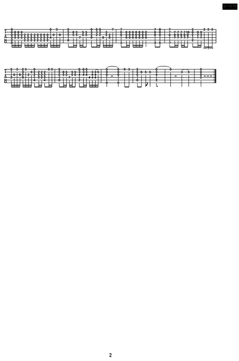 離歌 - 信樂團 - 吉他譜 - Chord4