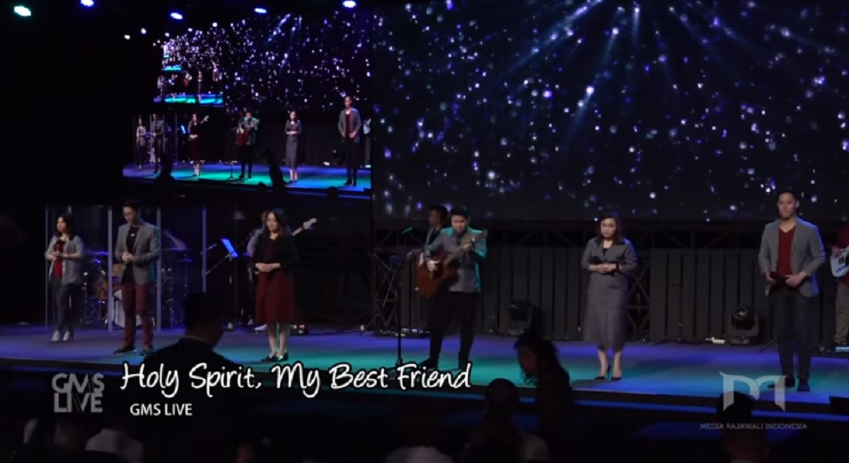 Holy Spirit, My best Friend Chords by GMS