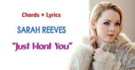 Just Want You_lyrics and chord