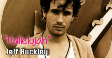 Hallelujah chords jeff Buckley