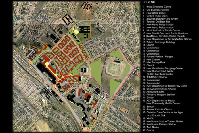 KwaMashu Town Centre. Choromanski Architects