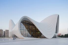 Zaha Hadid, Heydar Aliyev Center, Baku, 2014. Choromanski Architects