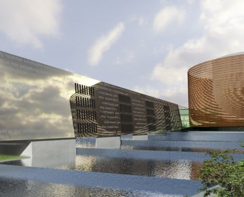 Pan African Parliament, Choromanski Architects