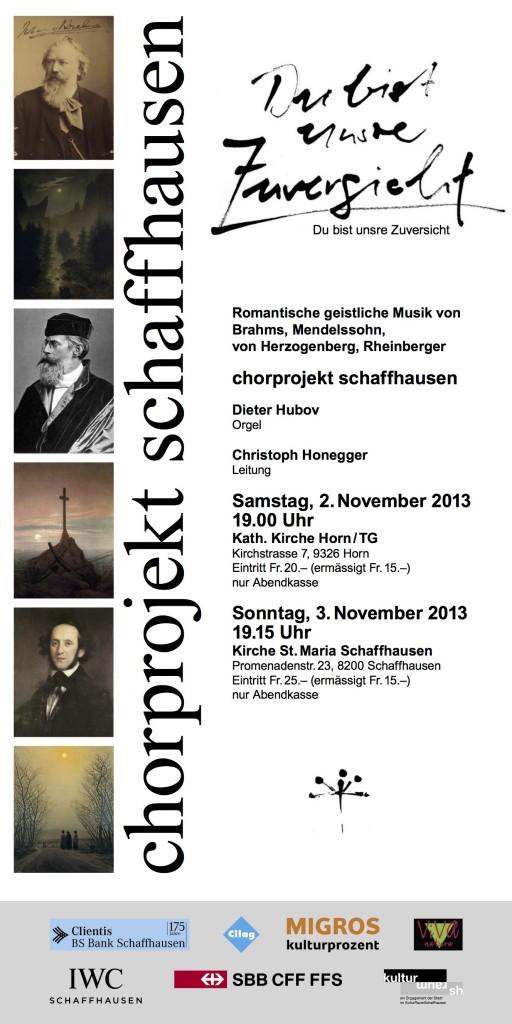 2.11.2013: Katholische Kirche Horn/TG 3.11.2013: Kirche St. Maria, Schaffhausen
