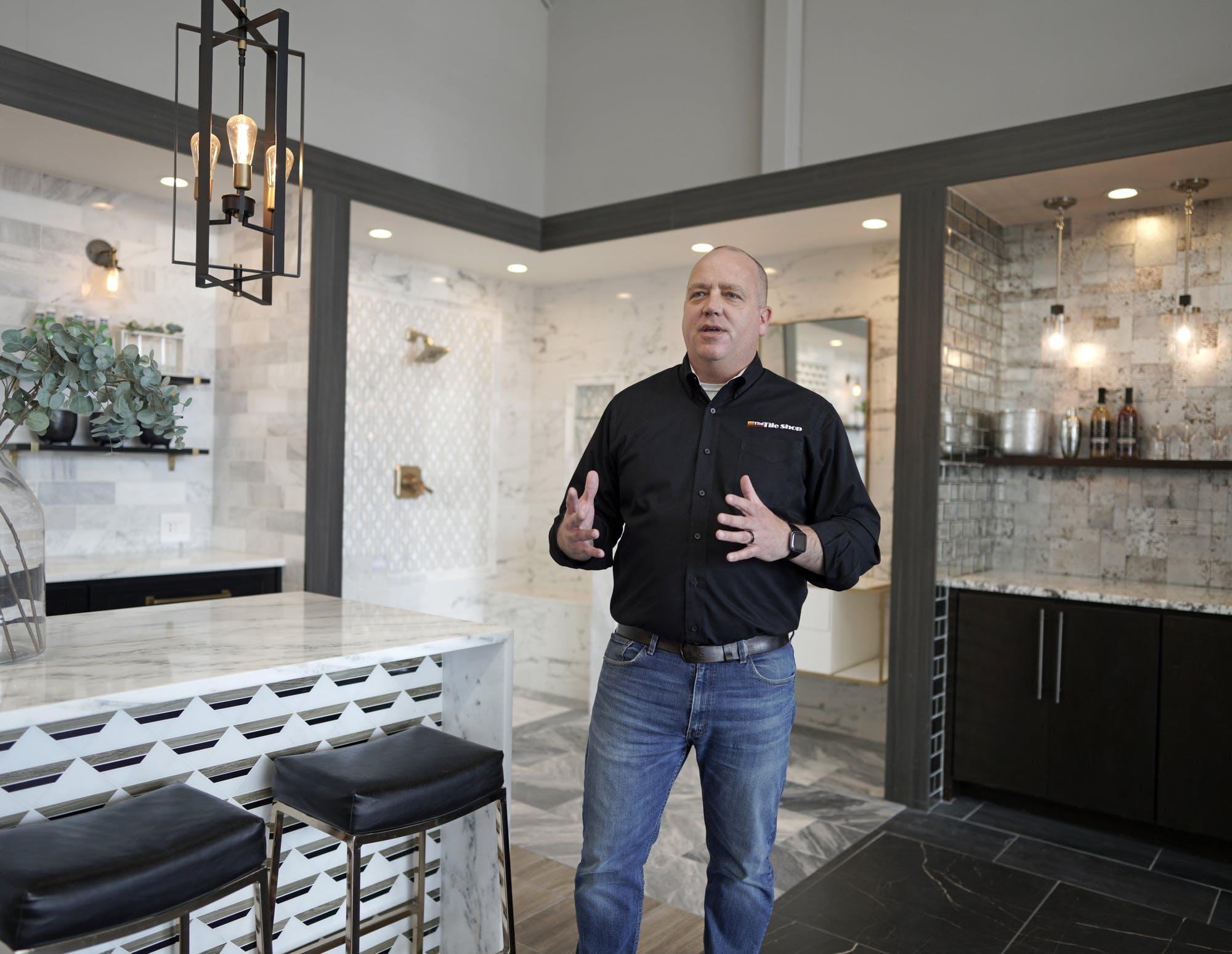 how tile shop survived a delisting