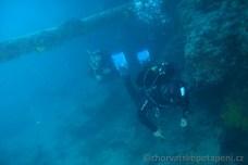 """Pod """"Jarbolem"""" - stěžněm, potápění v Chorvatsku"""