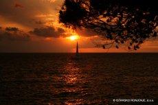 Západ slunce na Verudě
