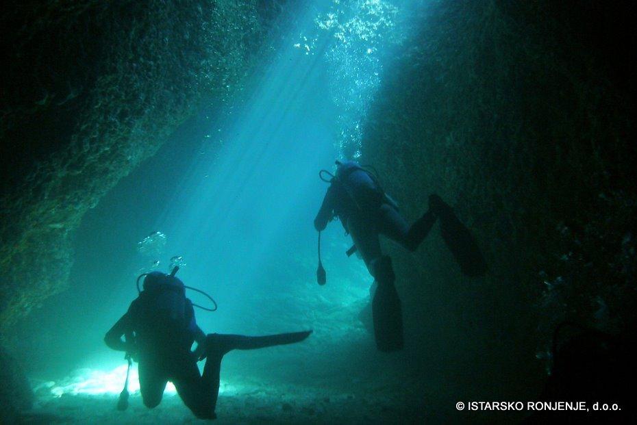 V jeskyni Malého Fraškeru