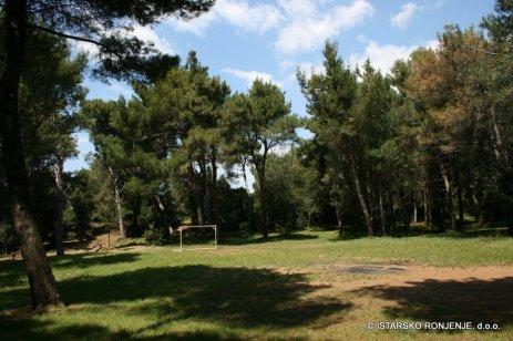 Fotbalové hřiště na Verudě