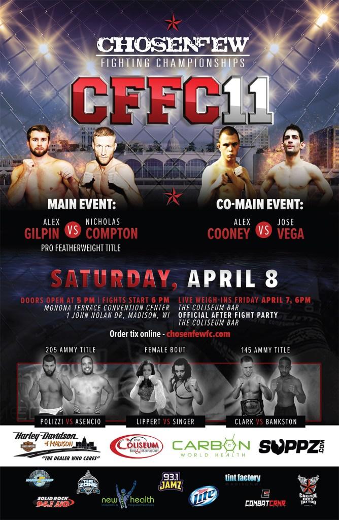 CFFC 11 - April 8th, 2017