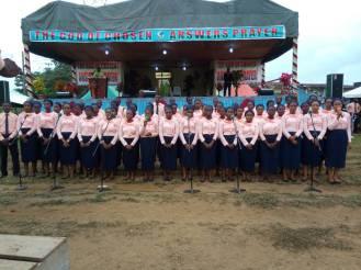 Campus Choir ministration at Oji 2017 2