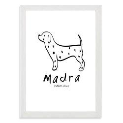 print for nursery - Madra