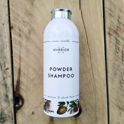 Natural powder shampoo cocoa and vanilla for medium to dark hair from Warrior Botanical