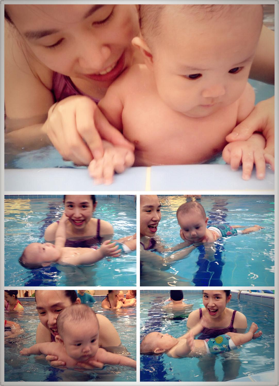 寶寶游泳-汐游-怕水哈維變身水中蛟龍