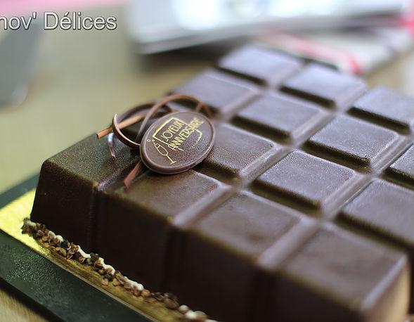entremet intense au chocolat