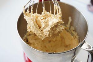 Foisonnement de la crème au beurre