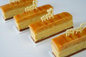Read more about the article Entremets poire et caramel