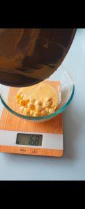 étape de la crème au kirsch