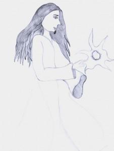 илюстрация към _Дупка в небето_