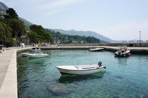 Crystal clear water in Dubrovnik, Croatia.
