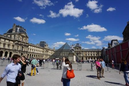The Louvre. Paris, France.