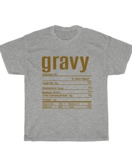 Gravy – Nutritional Facts Unisex Heavy Cotton Tee