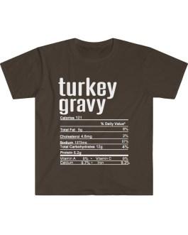 Turkey Gravy – Nutritional Facts Short Sleeve Tee
