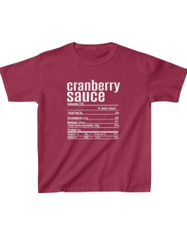 Cranberry Sauce Nutritional Facts Kids Heavy Cotton™ Tee