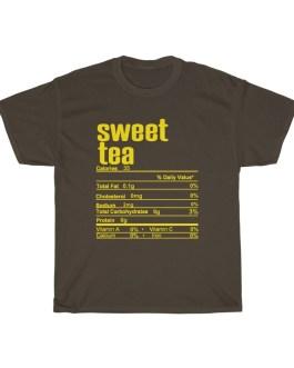 Sweet Tea – Nutritional Facts Short Sleeve Tee