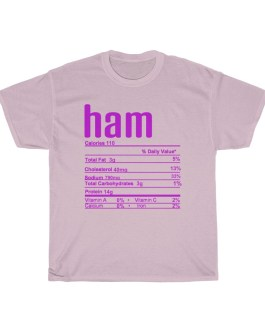 Ham – Nutritional Facts Unisex Heavy Cotton Tee