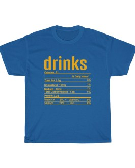 Drinks – Nutritional Facts Short Sleeve Tee
