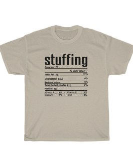 Stuffing – Nutritional Facts Short Sleeve Tee