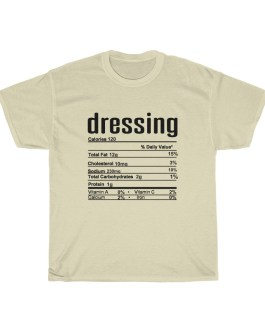 Dressing – Nutritional Facts Short Sleeve Tee