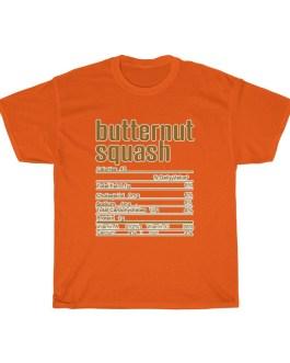 Butternut Squash – Nutritional Facts Unisex Heavy Cotton Tee