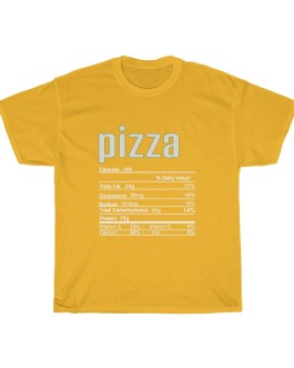 Pizza – Nutritional Facts Short Sleeve Tee