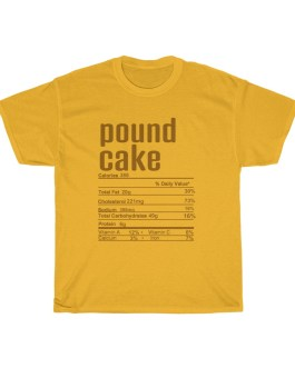 Pound Cake – Nutritional Facts Short Sleeve Tee
