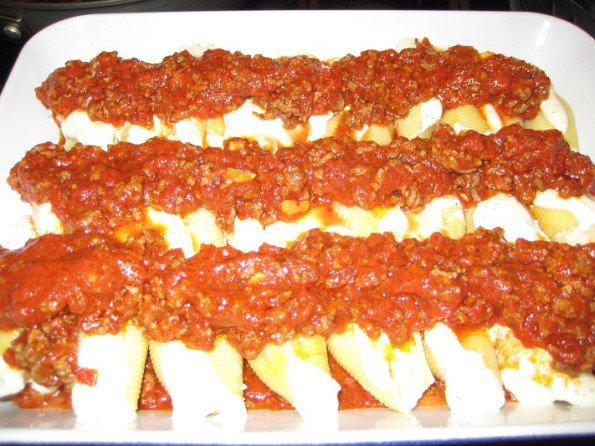 Meat Sauce added