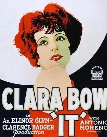 Clara Bow -- It