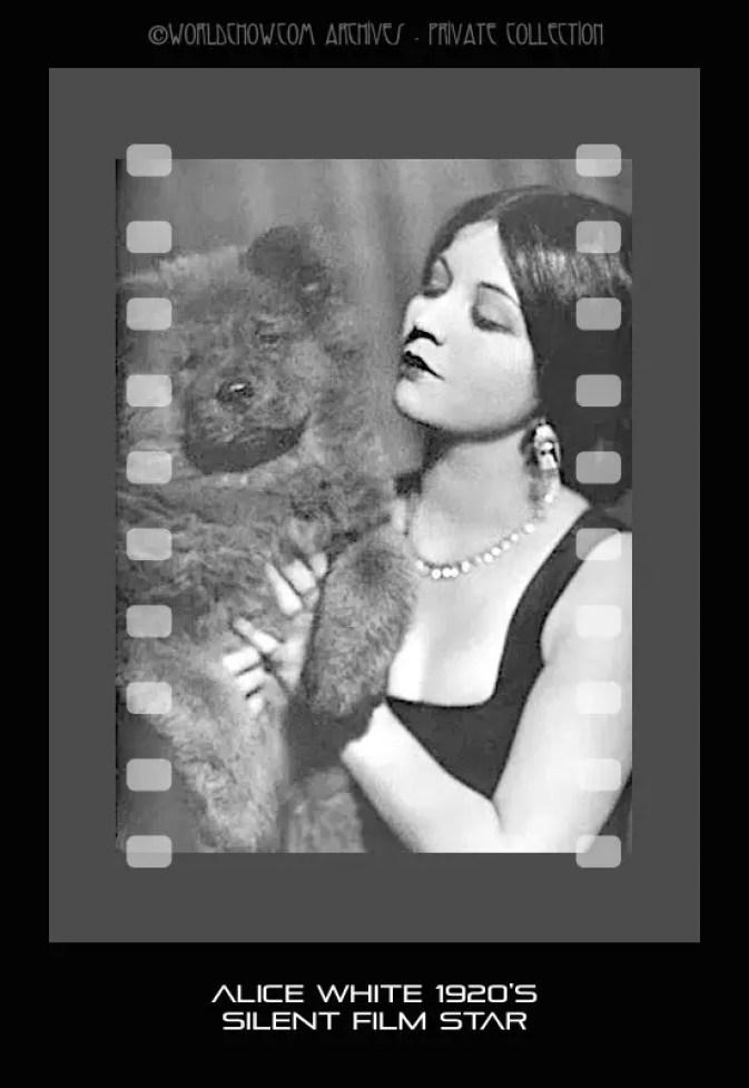 ALICE WHITE alice white,silent films