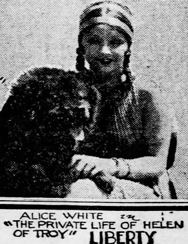 Newsclipping Alice White