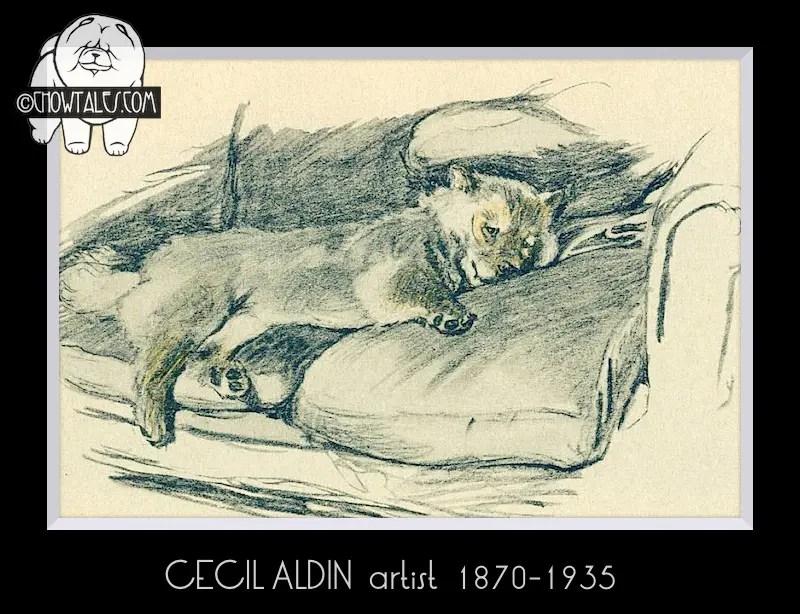 Cecil Aldin 1837-1935  artist