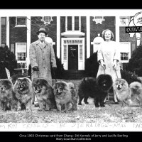 Chang Shi Kennels of Jerry and Lucille Sterling – Est. mid 1940's